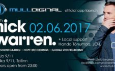 Mull Digital offical app launch: Nick Warren