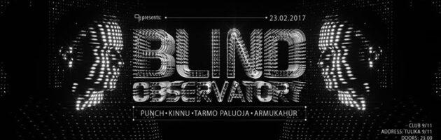 9/11 presents: Blind Observatory (GER)